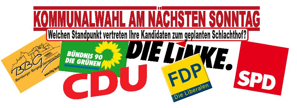 Parteistandpunkte-Kopf